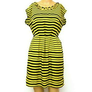 BeBop 8, Cutout Bumblebee Striped Mini